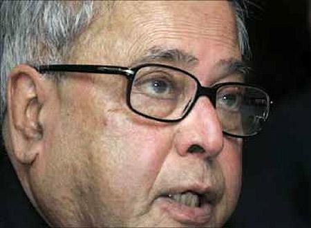 Pranab Mukherjee.