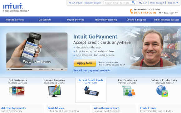 Intuit is an American software company that develops financial and tax preparation software.