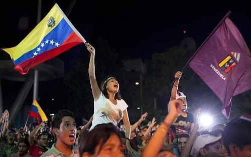 Venezuelan soccer fans