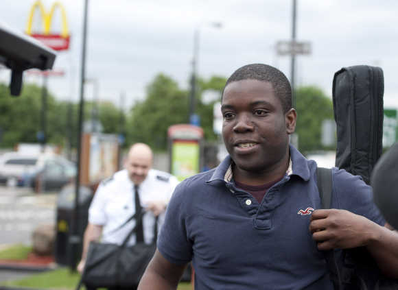 Former UBS trader Kweku Adoboli in south London.