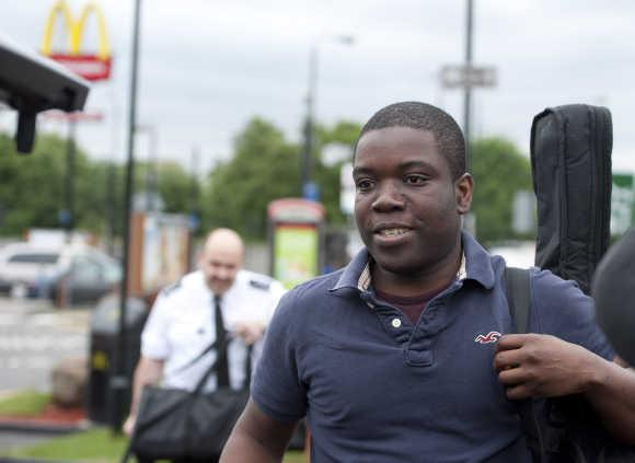 Former UBS trader Kweku Adoboli in south London.