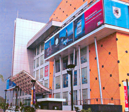 A mall in Ludhiana.