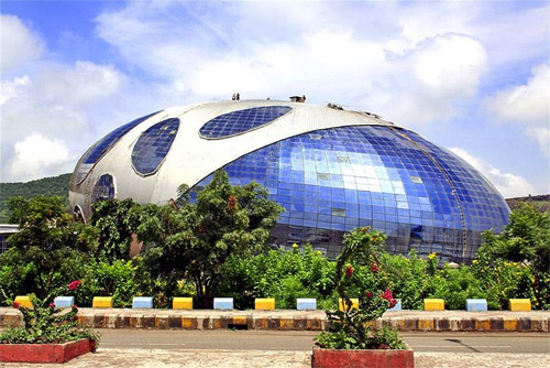 Infosys campus in Pune.
