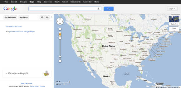 Google Maps is a web mapping service application and technology.