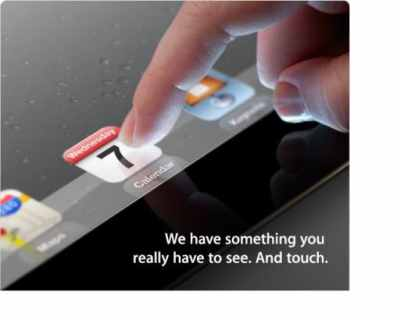 New, faster Apple iPad expected next week