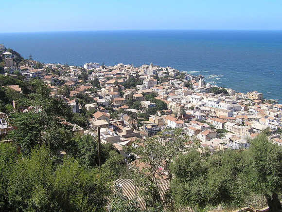 A view of Algiers.
