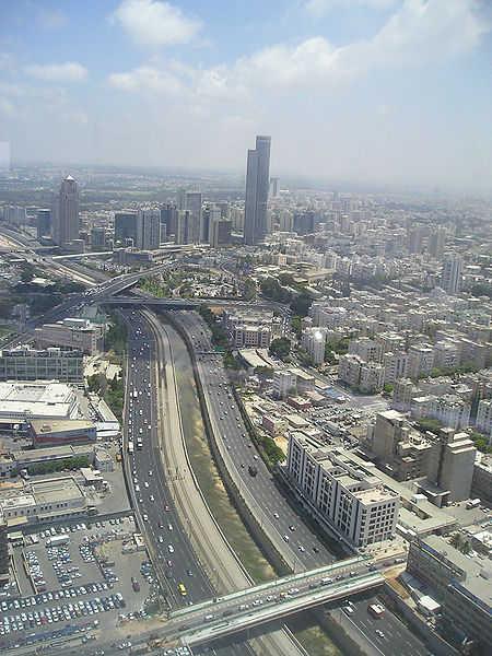 A view of Tel Aviv.