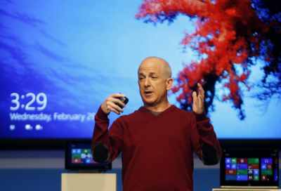 Windows' and Windows Live Division President Steven Sinofsky