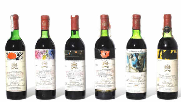 Chateau Mouton Rothschild.