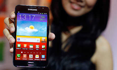 Samsung has 27 per cent share.