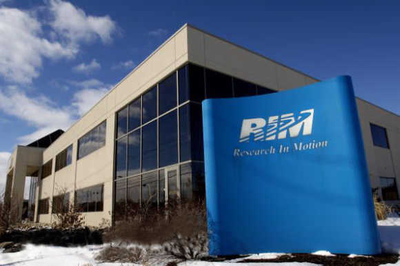 RIM, manufacturer of BlackBerry, has a 15 per cent share.