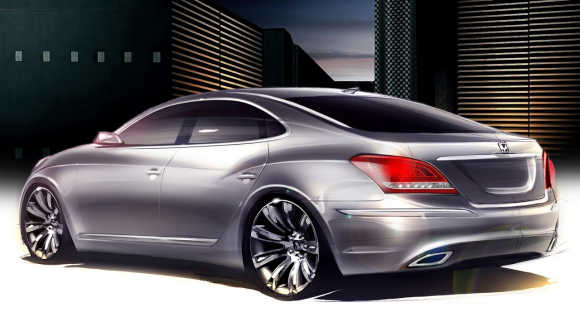 The Hyundai Equus is the largest and most expensive sedan in the company's lineup.