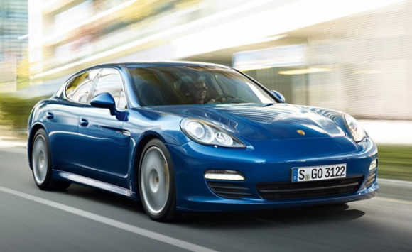 Porsche Panamera S.