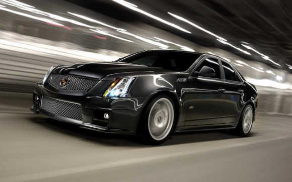Cadillac CTS-V Sedan.