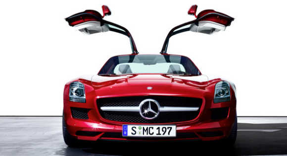 The car is the first Mercedes automobile designed in-house by AMG.