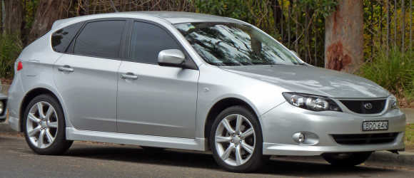 Subaru Impreza Hatchback.