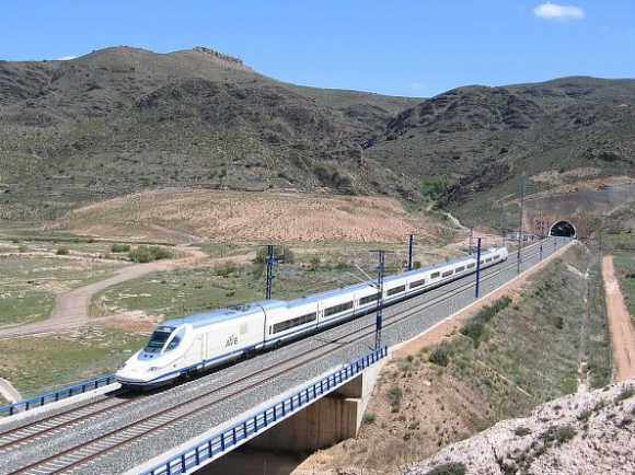 It is Spain-based train.