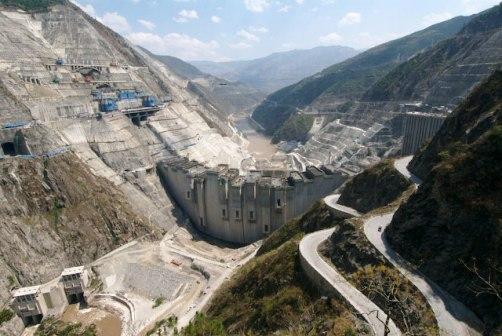 Xiaowan Dam.