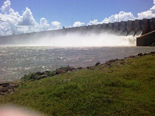 Ilha Solteira Dam.