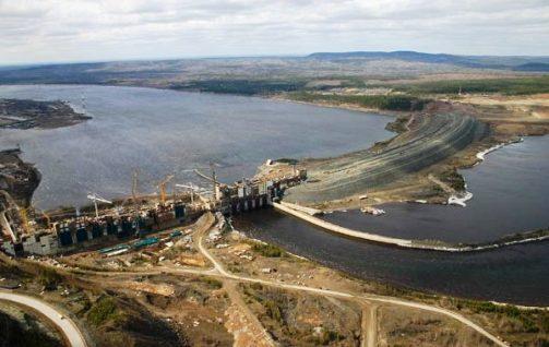 Boguchany Dam.