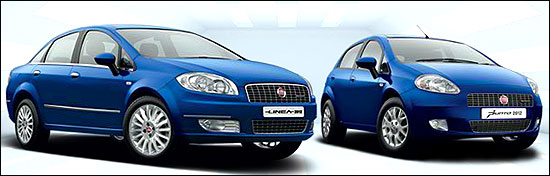 Fiat Linea and Punto.