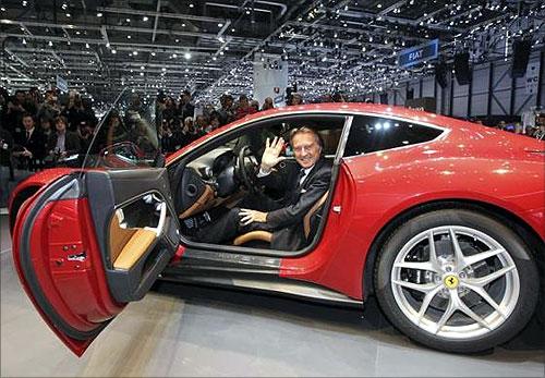 Ferrari CEO Luca Cordero di Montezemolo.