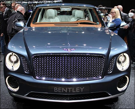 Bentley EXP9 concept.
