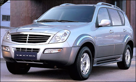 SsangYong Rexton.