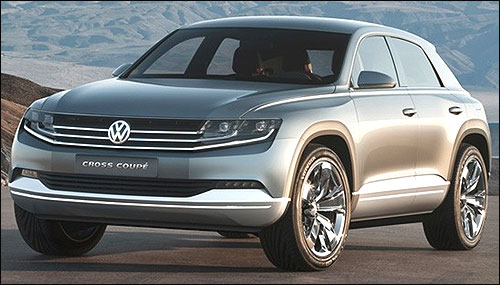 Volkswagen Cross Coupe.