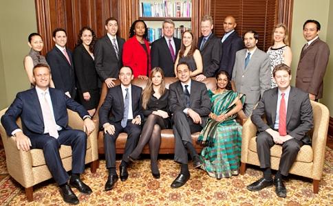(Front row, fifth from left) Subhashini Chandran.