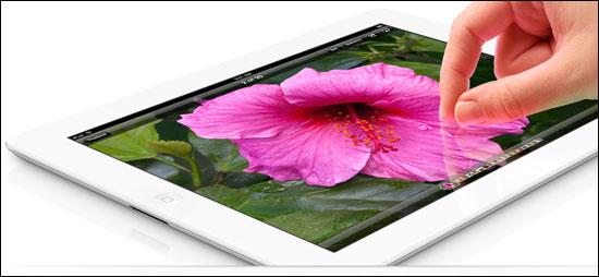 Apple unveils iPad 3