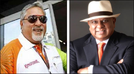 Vijay Mallya, Bhupinder Kumar Modi.