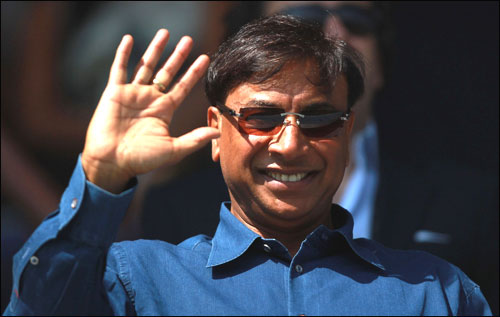 Lakshmi Mittal, the CEO and Chairman of ArcelorMittal.