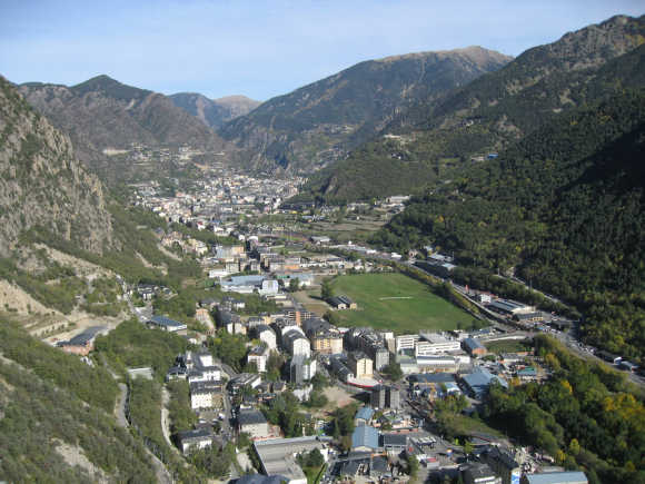 A view of Andorra.