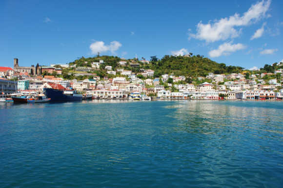 A view of Grenada.