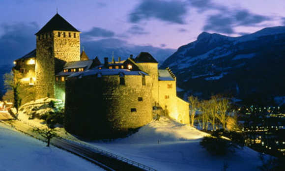 A view of Liechtenstein.
