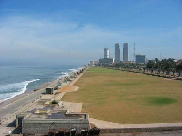 A view of Colombo.
