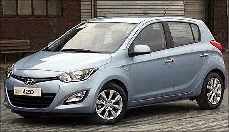 New Hyundai i20.