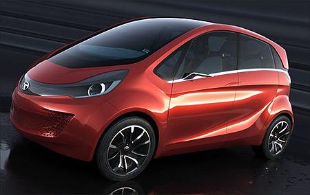 Tata Megapixel concept car.