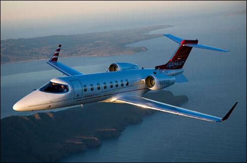 Bombardier jet.