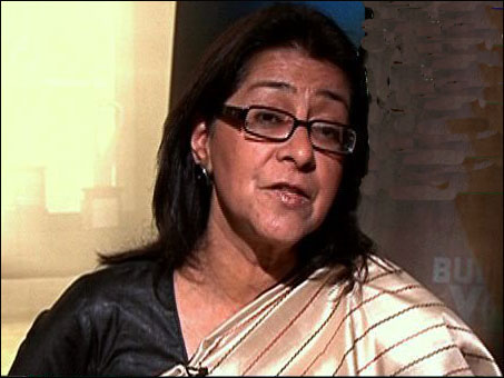 Naina Lal Kidwai, country manager of HSBC.