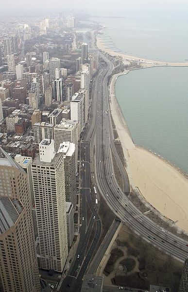 A view of Chicago.