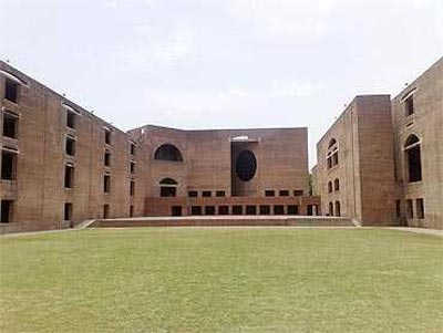A view of IIT Ahmedabad.