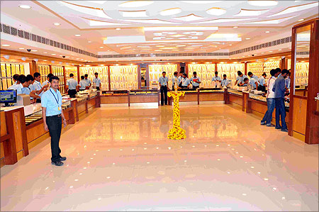 Kalyan showroom.
