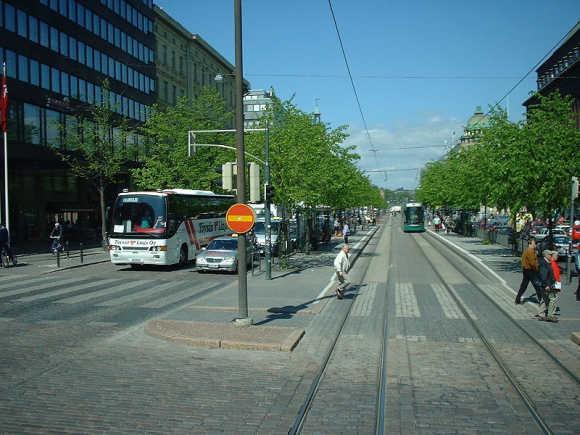 A view of Helsinki.