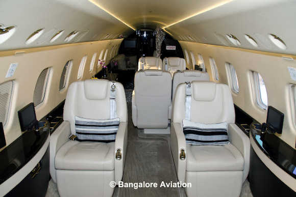 An inside look at Embraer Legacy 650