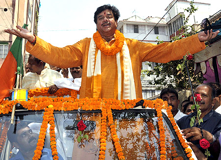 Shatrughan Sinha.