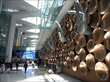 Indira Gandhi International Airport, New Delhi.