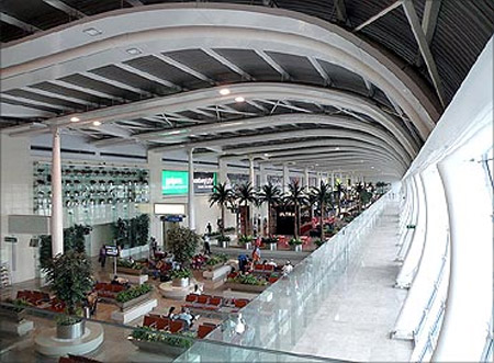 Chhatrapati Shivaji International Airport. Mumbai.