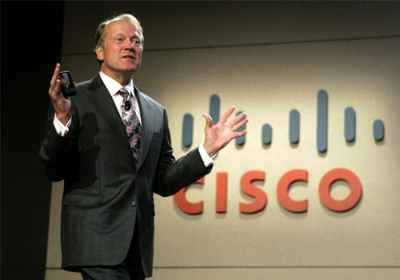 John Chambers, CEO of Cisco Systems